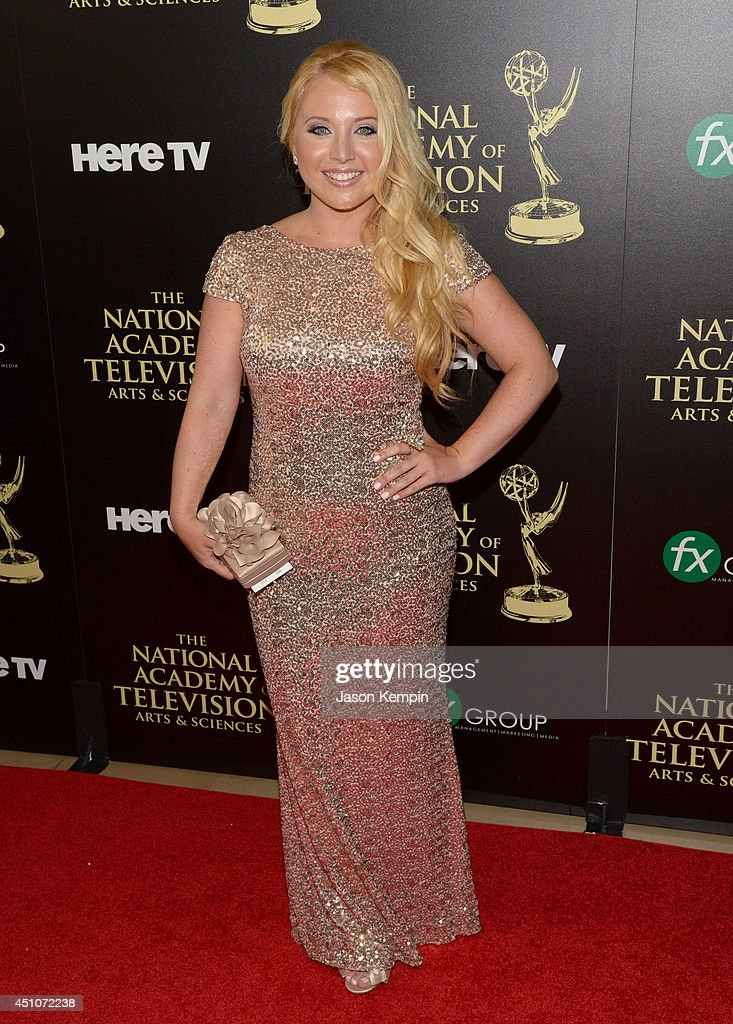 Actress Meagan Robar attends The 41st Annual Daytime Emmy Awards at The Beverly Hilton Hotel on June 22, 2014 in Beverly Hills, California.