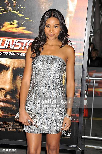 Actress Meagan Tandy arrives at the premiere of 'Unstoppable' held at the Regency Village Theater in Westwood