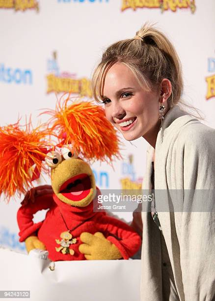 Actress Meaghan Jette Martin arrives at The Jim Henson Company's 'Fraggle Rock' Holiday Toy Drive Benefit at Kitson on Roberston on December 9 2009...