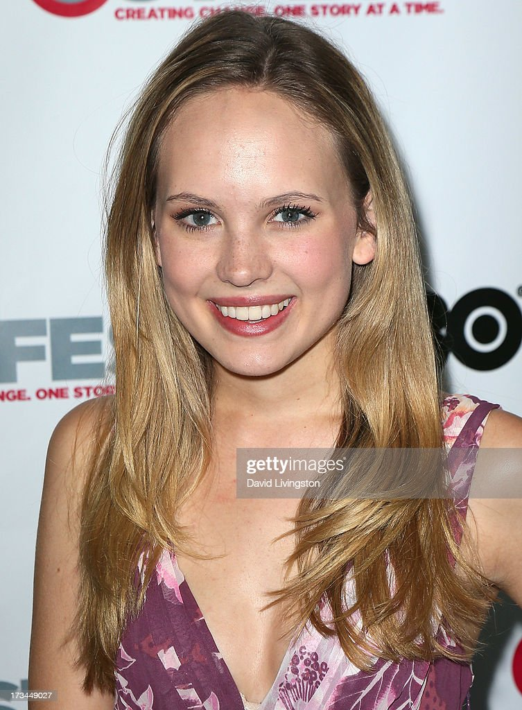 Actress Meaghan Martin attends the 2013 Outfest Film Festival 'Geography Club' screening at the Directors Guild Of America on July 14, 2013 in Los Angeles, California.