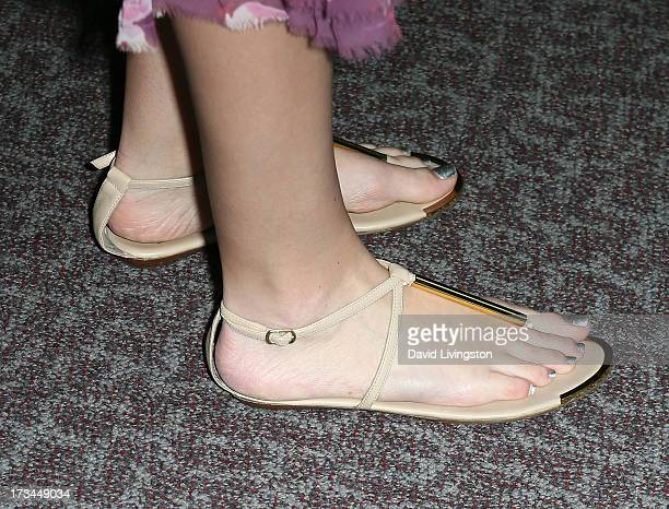 Actress Meaghan Martin attends the 2013 Outfest Film Festival 'Geography Club' screening at the Directors Guild Of America on July 14 2013 in Los...