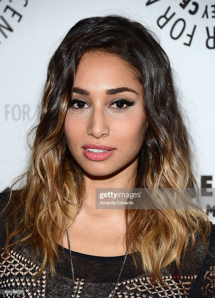 Actress Meaghan Rath arrives at The Paley Center for Media presents an evening with Syfy's 'Being Human' season 3 premiere screening and panel at The Paley Center for Media on January 8, 2013 in Beverly Hills, California.