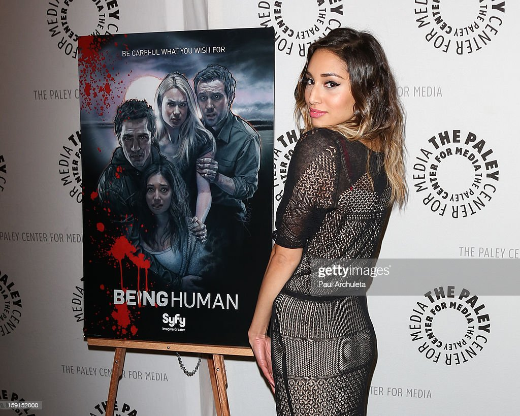Actress Meaghan Rath attends the premiere screening and panel discussion of Syfy's 'Being Human' season 3 at The Paley Center for Media on January 8, 2013 in Beverly Hills, California.