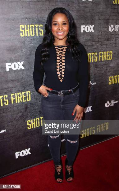Actress Mechelle Epps attends a screening and discussion of FOX's 'Shots Fired' at Pacific Design Center on March 16 2017 in West Hollywood California