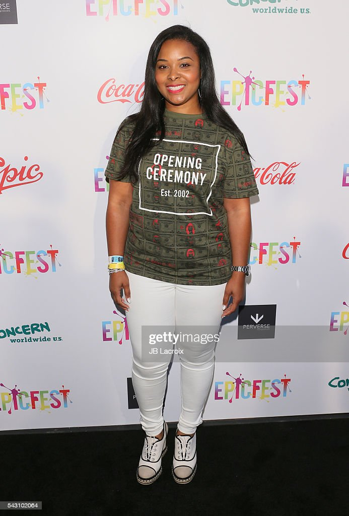 Actress Mechelle Epps attends EpicFest 2016 hosted by L.A. Reid and Epic Records at Sony Studios on June 25, 2016 in Los Angeles, California.