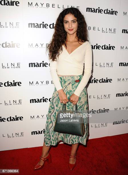 Actress Medalion Rahimi attends Marie Claire's Fresh Faces event at Doheny Room on April 21 2017 in West Hollywood California
