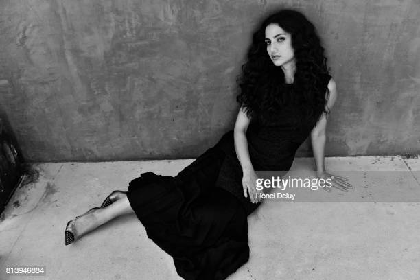 Actress Medalion Rahimi is photographed for Self Assignment on August 1 2016 in Los Angeles California