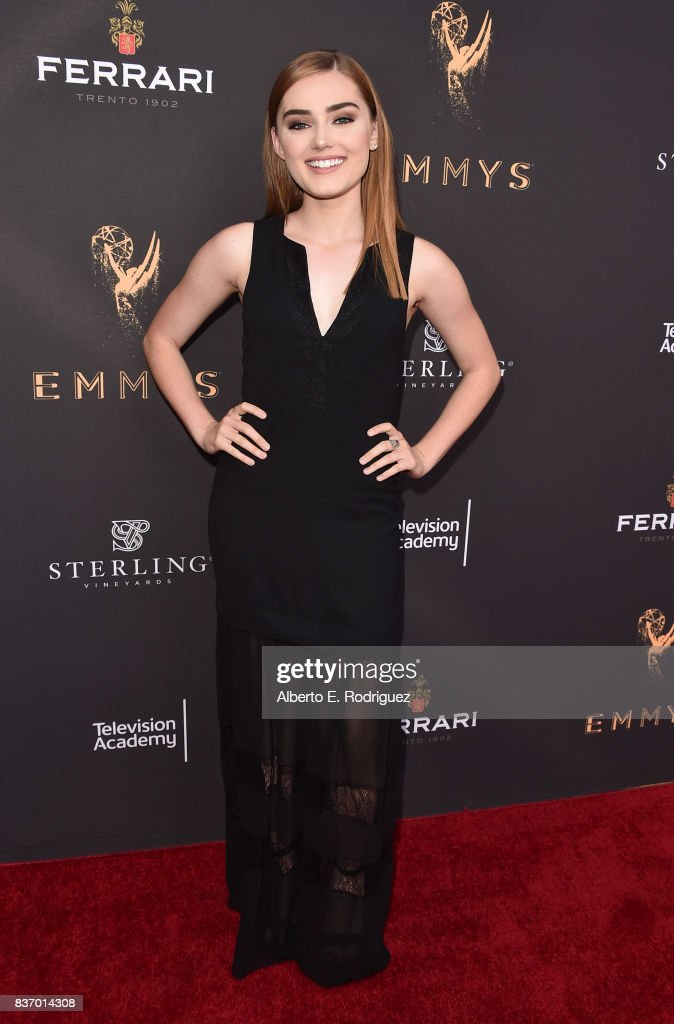 Actress Meg Donnolly attends the Television Academy's Performers Peer Group Celebration at The Montage Beverly Hills on August 21, 2017 in Beverly Hills, California.