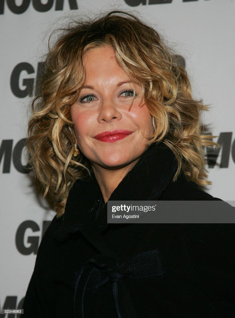 Actress Meg Ryan attends a party for Glamour Magazine's firstever Hero Issue at davidburke donatella on March 9 2005 in New York City