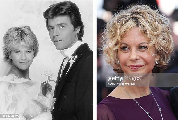 In this composite image a comparison has been made of actress Meg Ryan Many of today's leading Hollywood stars began their careers in daytime serials...