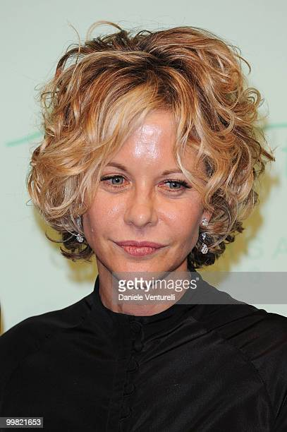 Actress Meg Ryan attends the Chopard 150th Anniversary Party at the VIP Room Palm Beach during the 63rd Annual International Cannes Film Festival on...