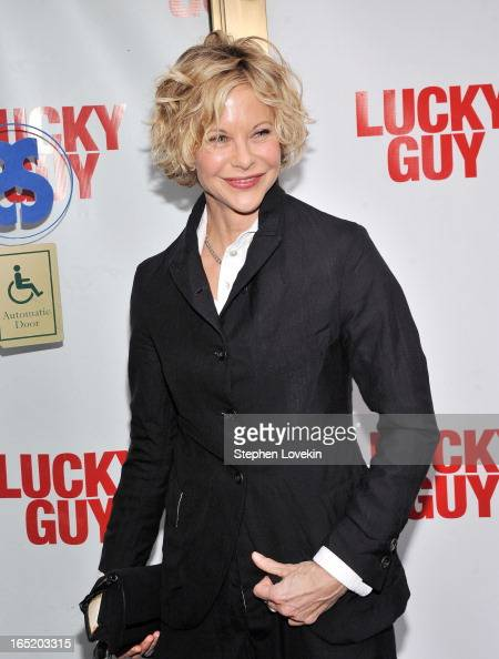 Actress Meg Ryan attends the 'Lucky Guy' Broadway Opening Night at The Broadhurst Theatre on April 1 2013 in New York City