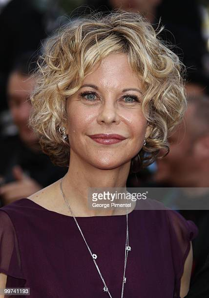 Actress Meg Ryan attends the premiere of 'Countdown To Zero' held at the Palais des Festivals during the 63rd Annual International Cannes Film...