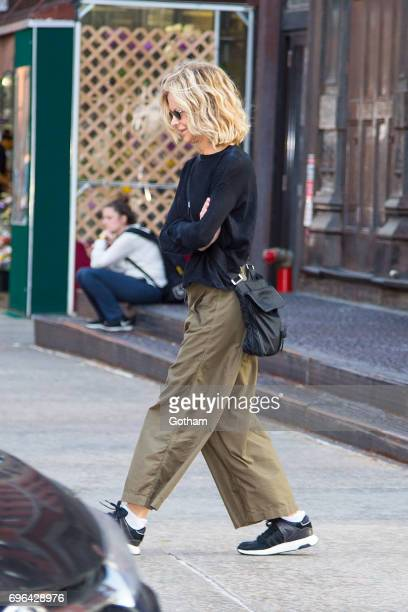 Actress Meg Ryan is seen in Tribeca on June 15 2017 in New York City