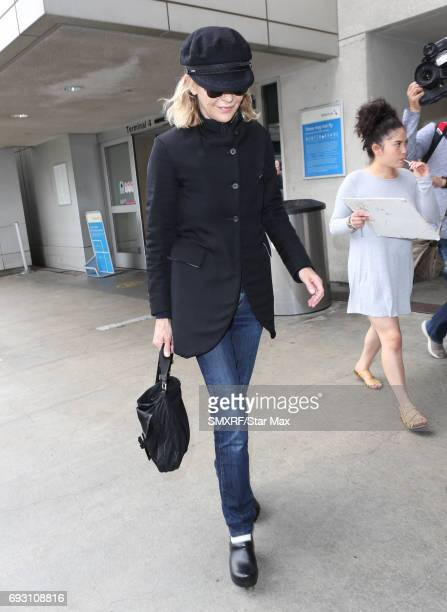 Actress Meg Ryan is seen on June 6 2017 in Los Angeles California