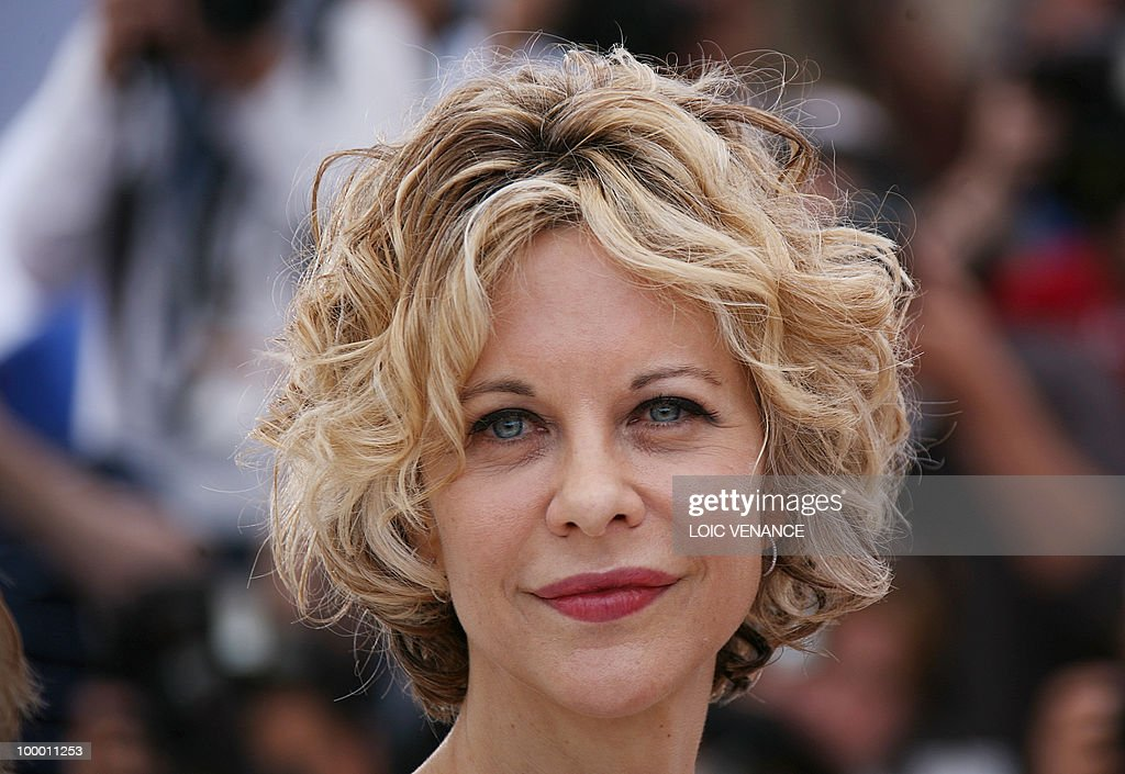 US actress Meg Ryan poses during the photocall 'Countdown to Zero' presented in a special screening at the 63rd Cannes Film Festival on May 16, 2010 in Cannes.