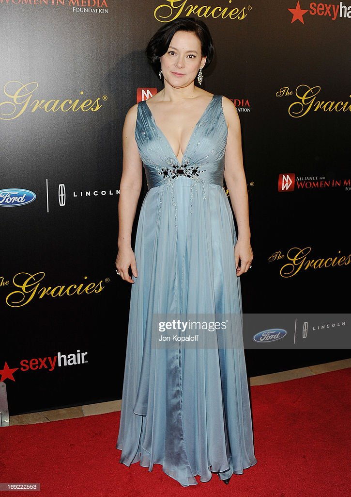 Actress Meg Tilly arrives 38th Annual Gracie Awards Gala at The Beverly Hilton Hotel on May 21, 2013 in Beverly Hills, California.