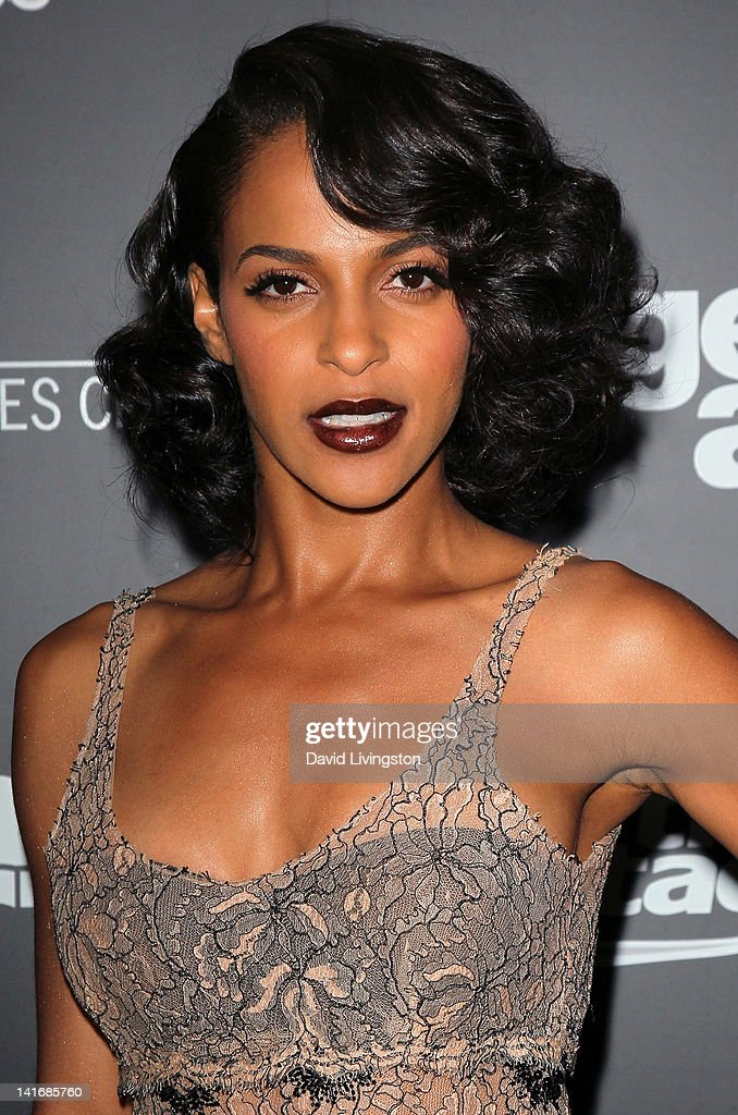 Actress <a gi-track='captionPersonalityLinkClicked' href=/galleries/search?phrase=Megalyn+Echikunwoke&family=editorial&specificpeople=2528950 ng-click='$event.stopPropagation()'>Megalyn Echikunwoke</a> attends the premiere of Sony Pictures Classics' 'Damsels in Distress' at the Egyptian Theatre on March 21, 2012 in Hollywood, California.