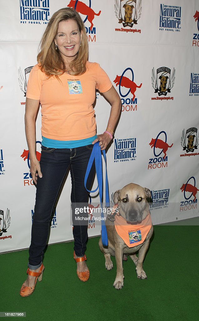 Actress Megan Blake attends Hooray for Hollywoof! Grand Opening and Launch Party for Zoom Room at Zoom Room on February 16, 2013 in Sherman Oaks, California.