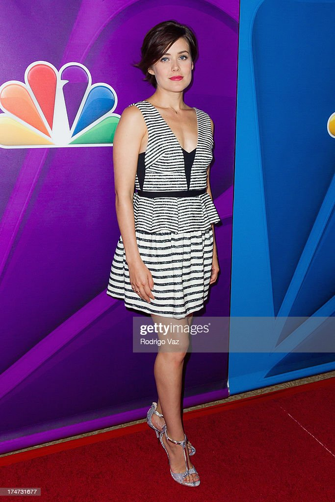 Actress Megan Boone attends the 2013 Television Critic Association's Summer Press Tour - NBC Party at The Beverly Hilton Hotel on July 27, 2013 in Beverly Hills, California.