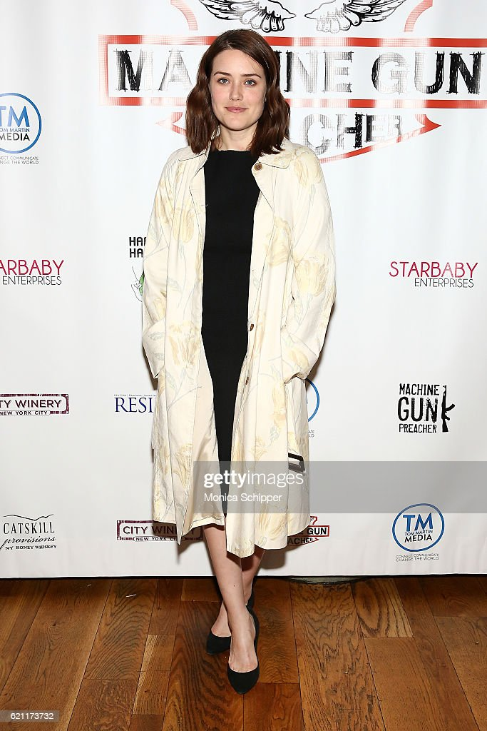Actress Megan Boone attends the 2016 Angels Of East Africa Gala at City Winery on November 4, 2016 in New York City.