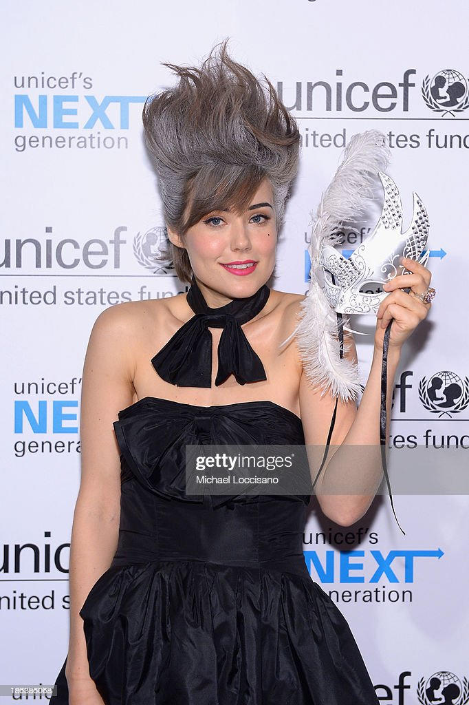 Actress <a gi-track='captionPersonalityLinkClicked' href=/galleries/search?phrase=Megan+Boone&family=editorial&specificpeople=5644334 ng-click='$event.stopPropagation()'>Megan Boone</a> attends the 4th Annual UNICEF Masquerade Ball at Angel Orensanz Foundation on October 30, 2013 in New York City.
