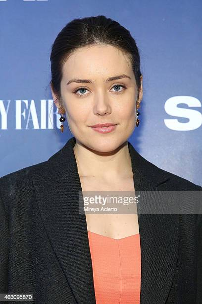 Actress Megan Boone attends 'The Slap' New York Premiere Party at The New Museum on February 9 2015 in New York City