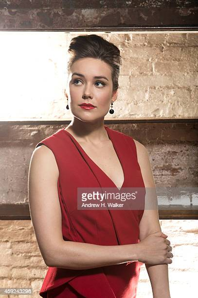 Actress Megan Boone is photographed for Resident Magazine on February 2 2014 in New York City