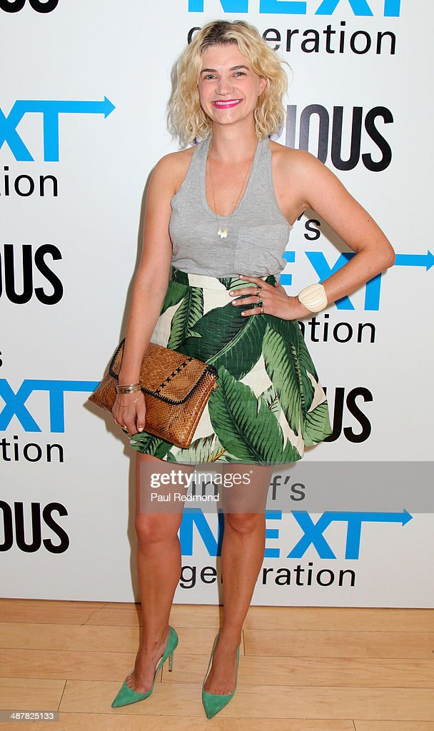 Actress <a gi-track='captionPersonalityLinkClicked' href=/galleries/search?phrase=Megan+Ferguson&family=editorial&specificpeople=4598647 ng-click='$event.stopPropagation()'>Megan Ferguson</a> attends 1st Annual UNICEF NextGen LA Photo Benefit at SkyBar at the Mondrian Los Angeles on May 1, 2014 in West Hollywood, California.