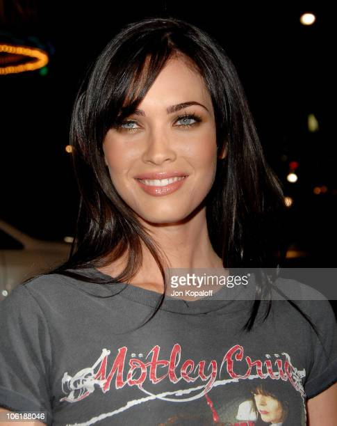 Actress Megan Fox arrives at the Los Angeles premiere 'Juno' at the Mann Village Theater on December 3 2007 in Westwood California