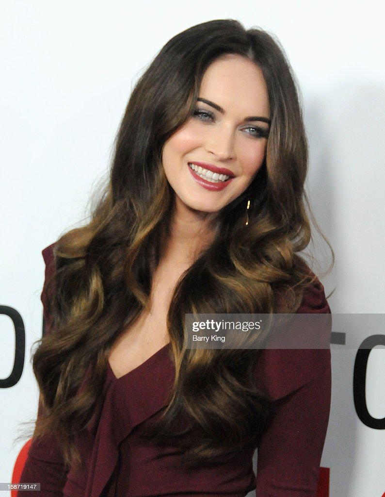 Actress Megan Fox arrives at the Los Angeles Premiere 'This Is 40' at Grauman's Chinese Theatre on December 12, 2012 in Hollywood, California.