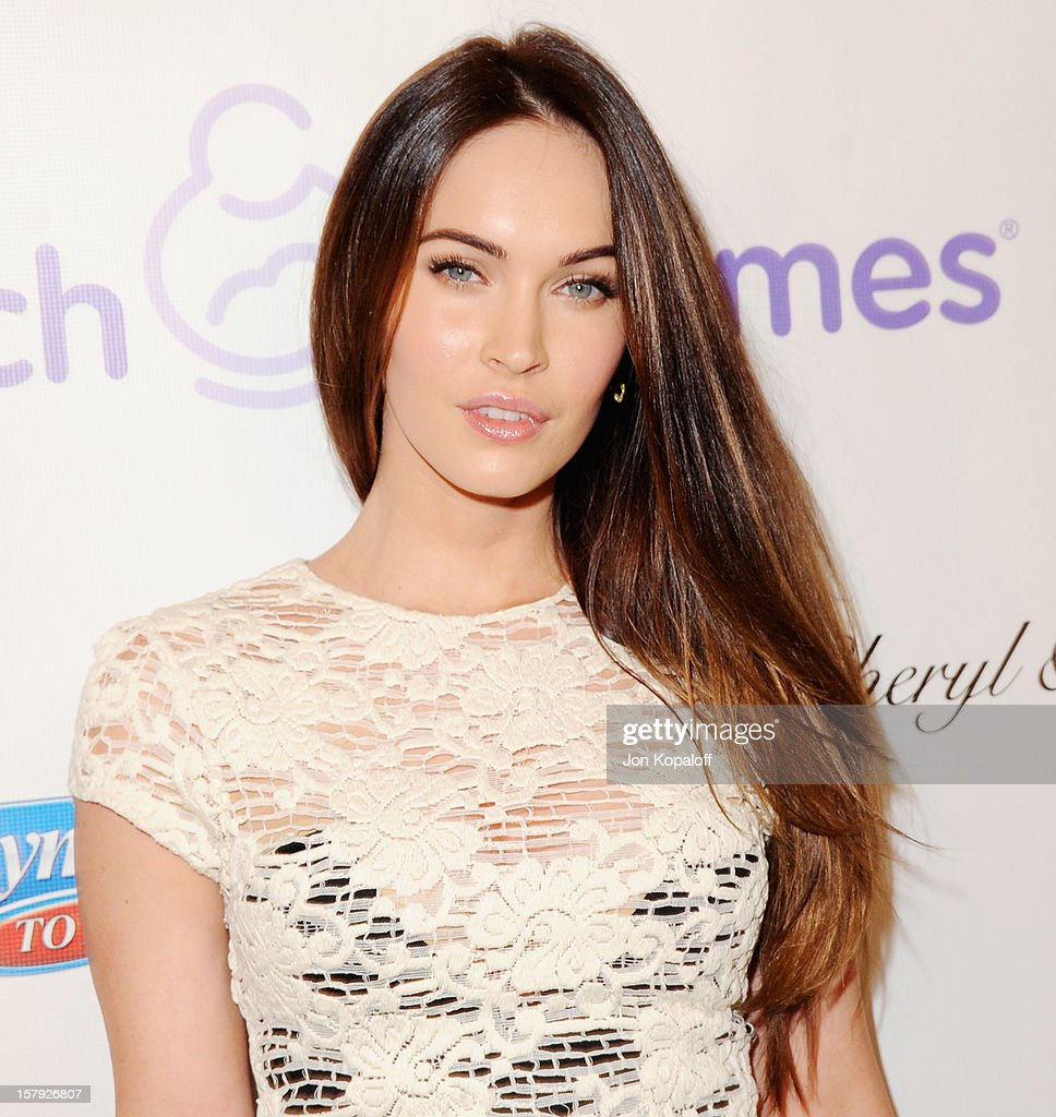 Actress <a gi-track='captionPersonalityLinkClicked' href=/galleries/search?phrase=Megan+Fox&family=editorial&specificpeople=2239934 ng-click='$event.stopPropagation()'>Megan Fox</a> arrives at the March Of Dimes Celebration Of Babies Luncheon at Beverly Hills Hotel on December 7, 2012 in Beverly Hills, California.