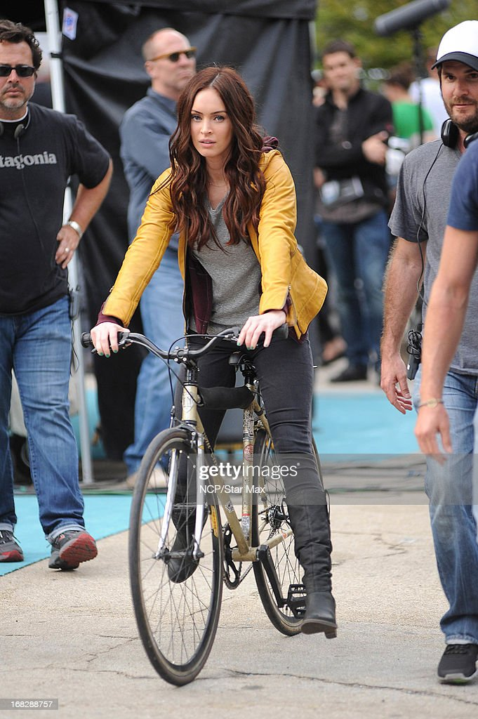 Actress <a gi-track='captionPersonalityLinkClicked' href=/galleries/search?phrase=Megan+Fox&family=editorial&specificpeople=2239934 ng-click='$event.stopPropagation()'>Megan Fox</a> as seen on May 7, 2013 in New York City.