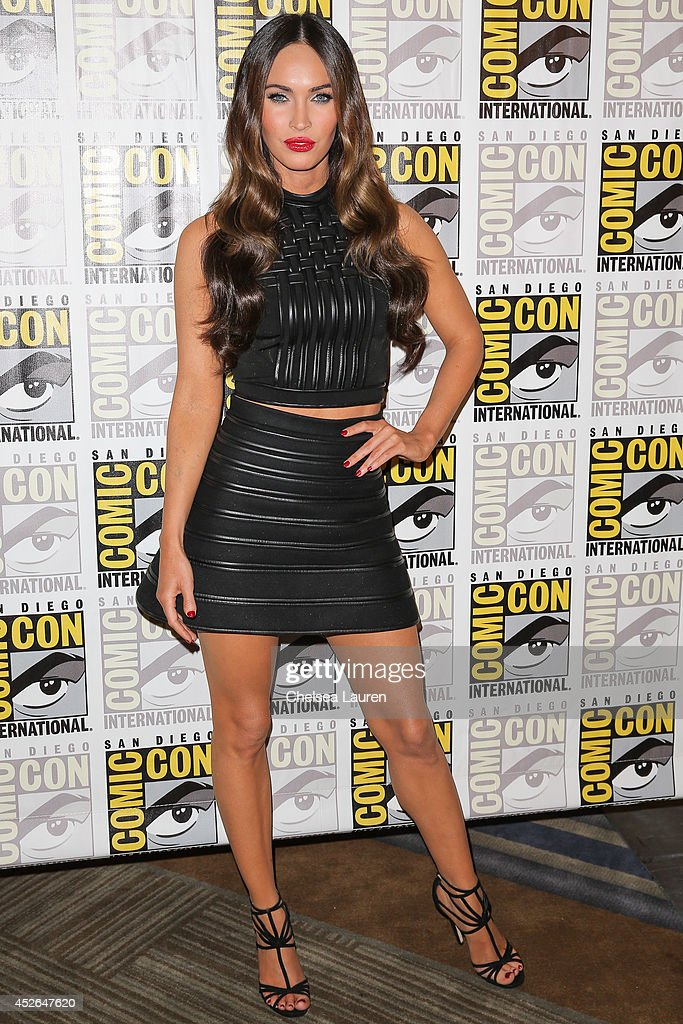 Actress Megan Fox attends Comic-Con International on July 24, 2014 in San Diego, California.