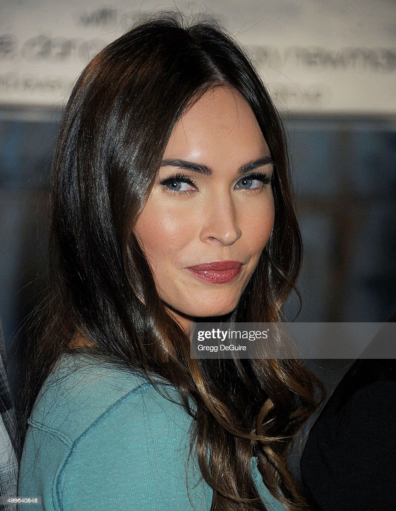 Actress Megan Fox attends FOX's 'New Girl' 100th Episode Cake-Cutting at Fox Studio Lot on December 2, 2015 in Century City, California.