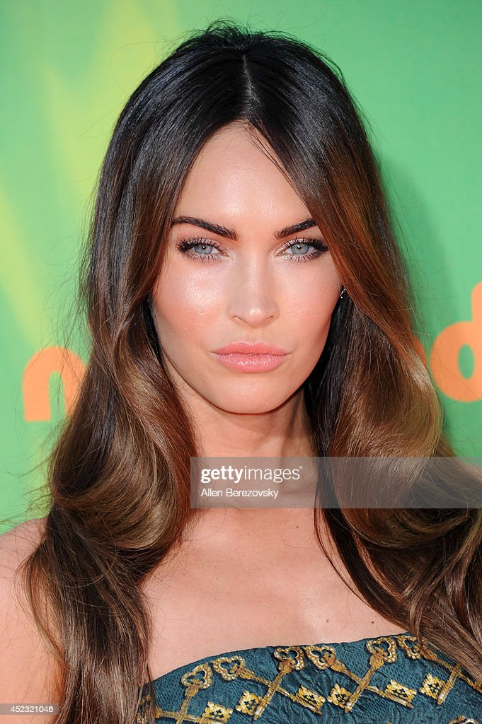 Actress <a gi-track='captionPersonalityLinkClicked' href=/galleries/search?phrase=Megan+Fox&family=editorial&specificpeople=2239934 ng-click='$event.stopPropagation()'>Megan Fox</a> attends Nickelodeon Kids' Choice Sports Awards 2014 at Pauley Pavilion on July 17, 2014 in Los Angeles, California.