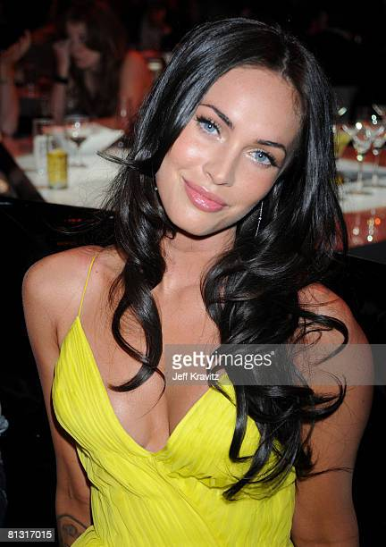 Actress Megan Fox attends Spike TV's 2nd Annual 'Guys Choice' Awards at Sony Studios on May 30 2008 in Culver City California