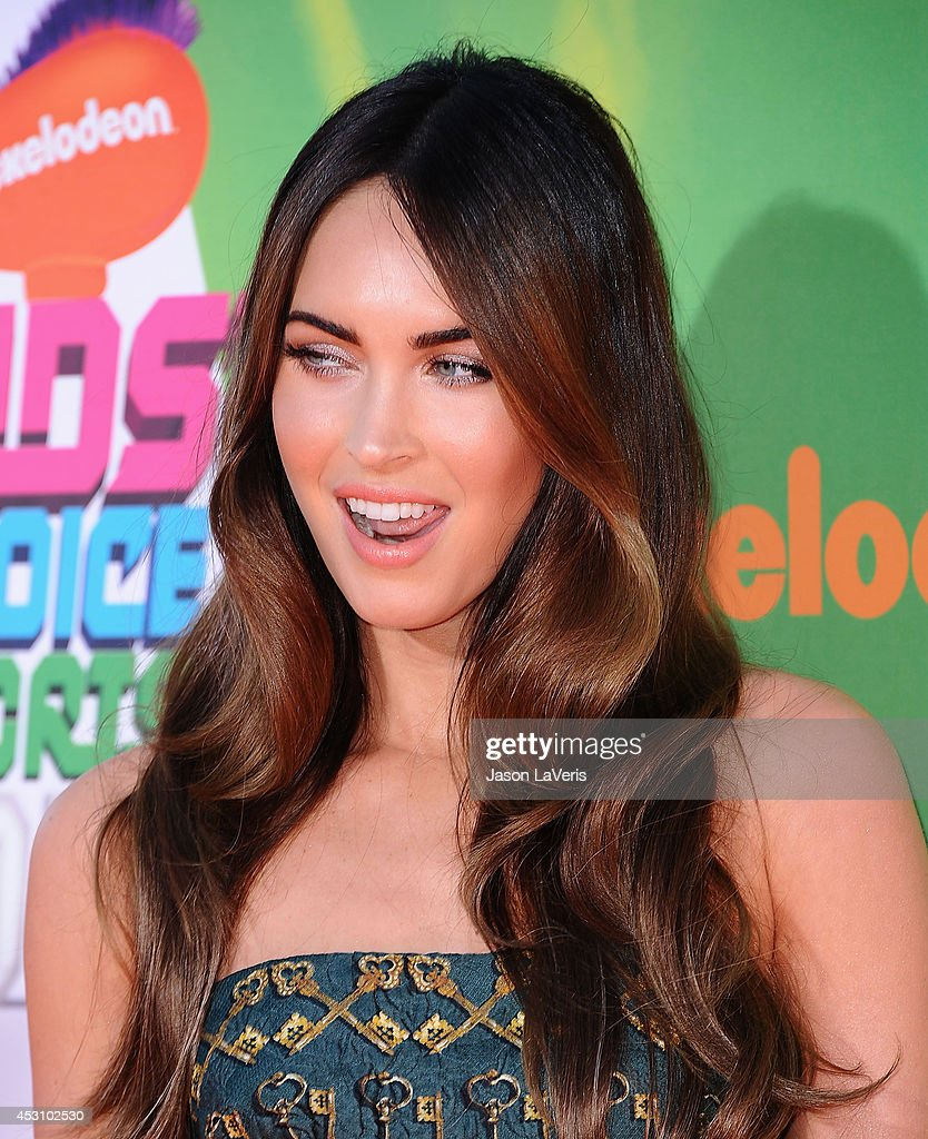 Actress Megan Fox attends the 2014 Nickelodeon Kids' Choice Sports Awards at Pauley Pavilion on July 17, 2014 in Los Angeles, California.