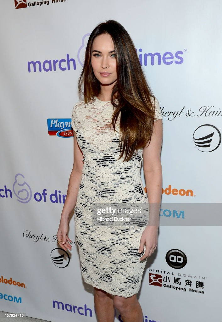 Actress Megan Fox attends the 7th Annual March of Dimes Celebration of Babies, a Hollywood Luncheon, at the Beverly Hills Hotel on December 7, 2012 in Beverly Hills, California.