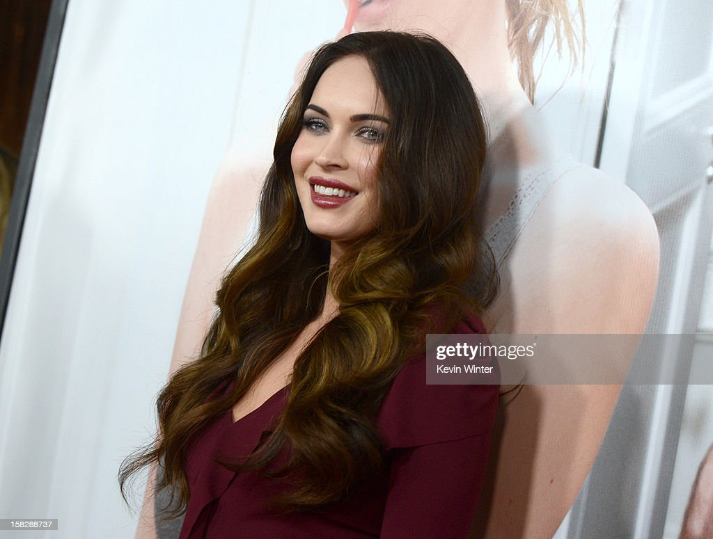 Actress Megan Fox attends the premiere of Universal Pictures' 'This Is 40' at Grauman's Chinese Theatre on December 12, 2012 in Hollywood, California.