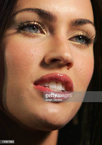 Actress Megan Fox attends the special event celebrity screening of the new film 'Transformers' at Hoyts Entertainment Quarter Moore Park on June 12...