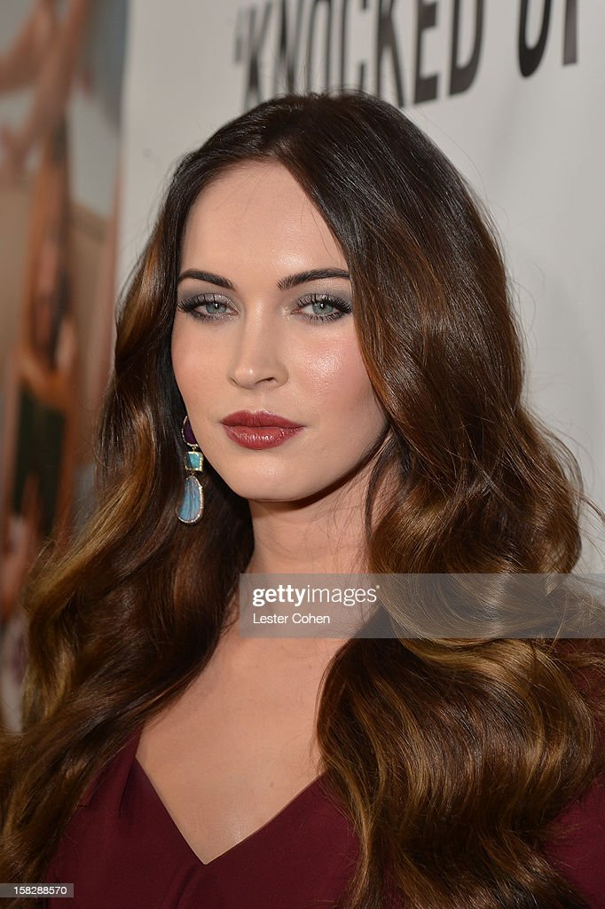Actress <a gi-track='captionPersonalityLinkClicked' href=/galleries/search?phrase=Megan+Fox&family=editorial&specificpeople=2239934 ng-click='$event.stopPropagation()'>Megan Fox</a> attends 'This Is 40' - Los Angeles Premiere - Red Carpet at Grauman's Chinese Theatre on December 12, 2012 in Hollywood, California.