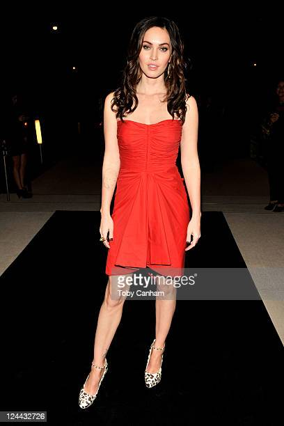 Actress Megan Fox attends Toast The Cast Of 'Friends With Kids' reception hosted by Michael Kors Vanity Fair's Krista Smith and Red Granite Pictures...