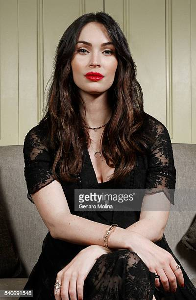 Actress Megan Fox is photographed for Los Angeles Times on May 26 2016 in Los Angeles California PUBLISHED IMAGE CREDIT MUST READ Genaro Molina/Los...
