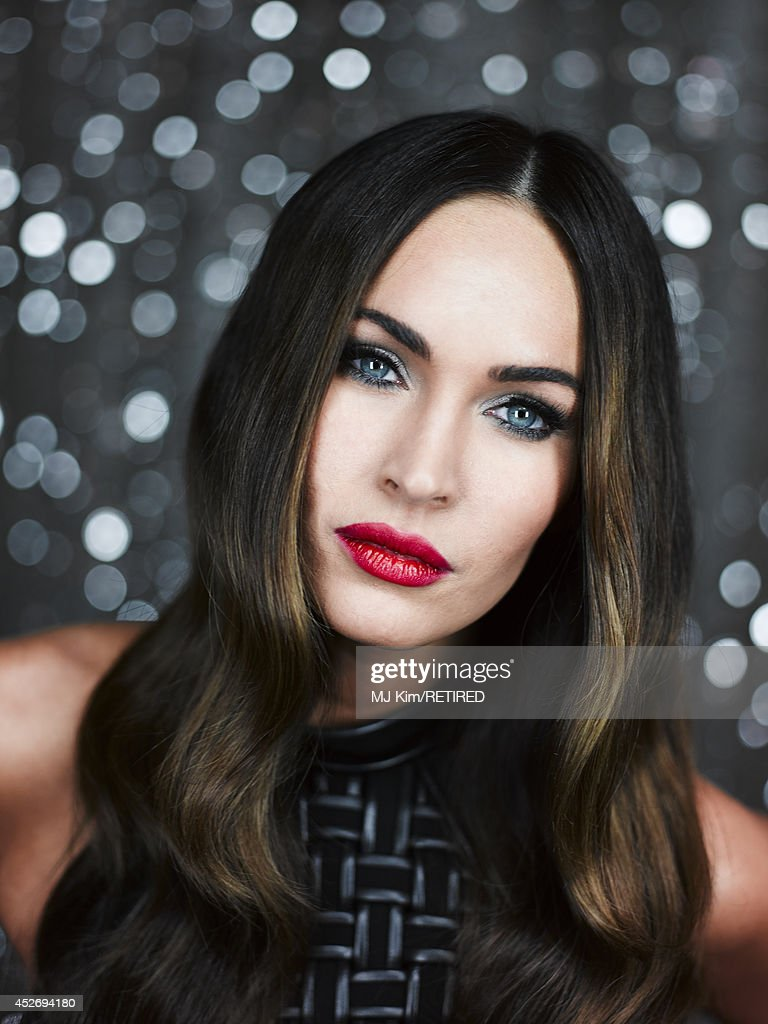 Actress Megan Fox poses for a portrait at the Getty Images Portrait Studio powered by Samsung Galaxy at Comic-Con International 2014 at Hard Rock Hotel San Diego on July 25, 2014 in San Diego, California.