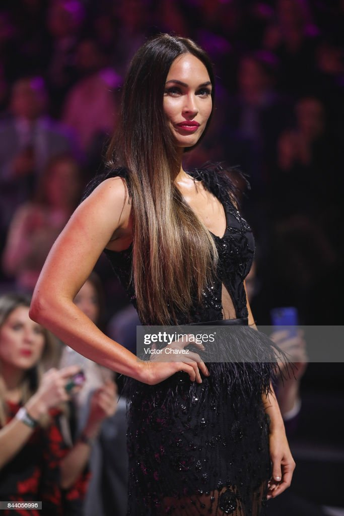 Actress Megan Fox walks the runway during the Liverpool Fashion Fest Autumn/Winter at Fronton Mexico on September 7, 2017 in Mexico City, Mexico.
