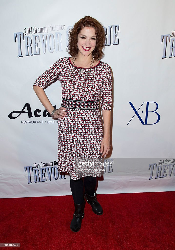 Actress Megan Hayes attends the Pre-Grammy Celebration Party for Trevor Guthrie on January 25, 2014 in Los Angeles, California.