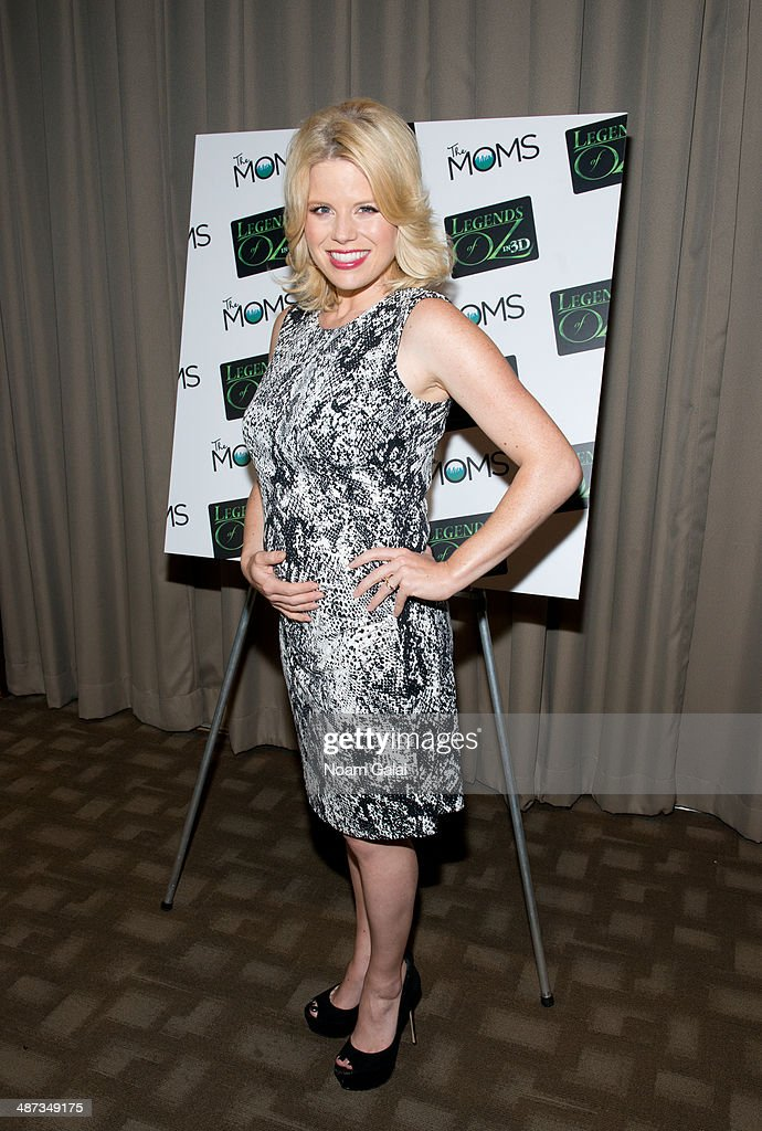 Actress Megan Hilty attends 'Legends Of Oz Dorothy's Return' at the Park Avenue Screening Room on April 29 2014 in New York City