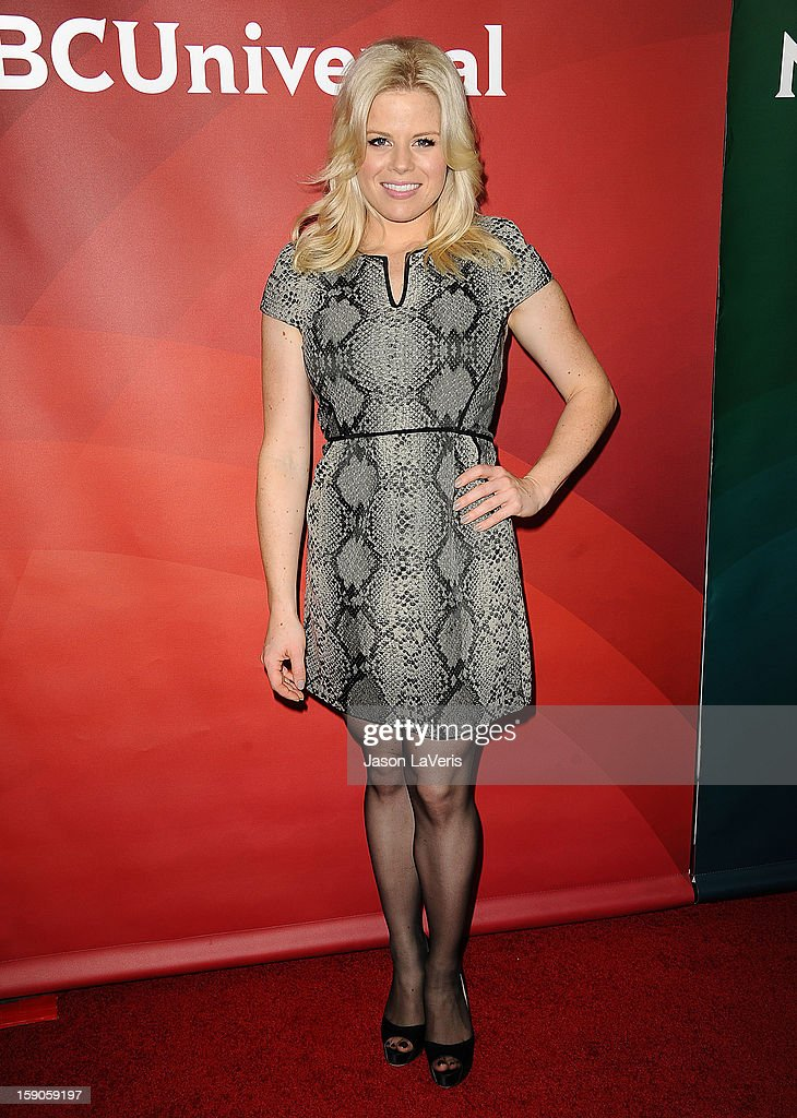 Actress Megan Hilty attends the 2013 NBC TCA Winter Press Tour at The Langham Huntington Hotel and Spa on January 6, 2013 in Pasadena, California.