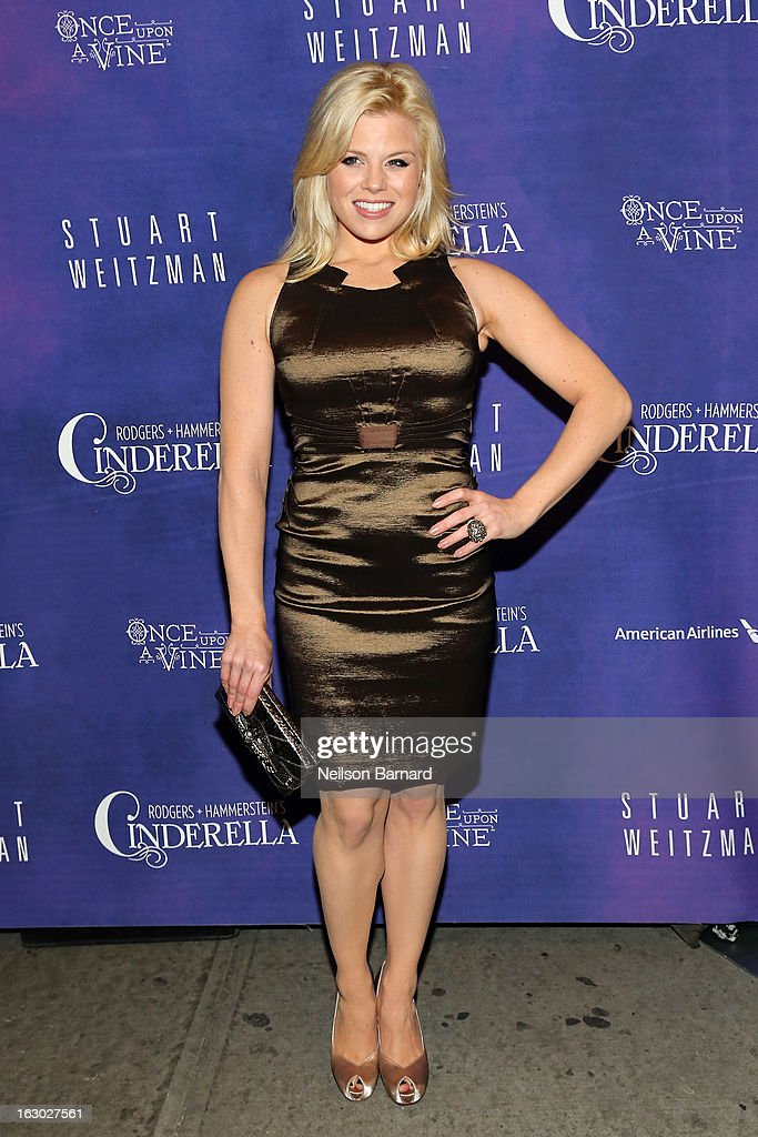 Actress Megan Hilty attends the 'Cinderella' Broadway Opening Night at Broadway Theatre on March 3, 2013 in New York City.